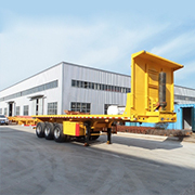 China Factory Direct Sale Flatbed Semitrailer
