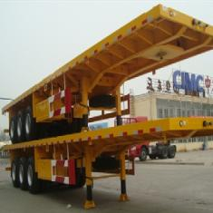 3 Axle 40FT Flatbed Semi Trailer from CIMC