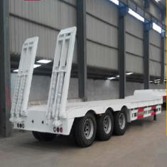 3 axle Low Bed Semi Trailer For Sale