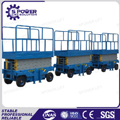 Spower Movable 9M small electric lifting platform